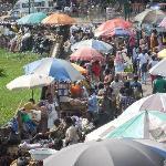 Kumasi market; a short walk from the hotel