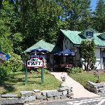 New Cafe Entrance