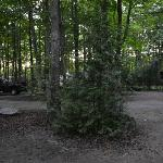Our campground at sauble falls