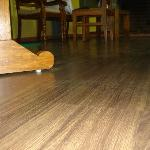 Complete Wooden Flooring in Suite.