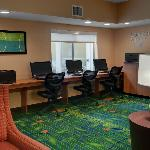 Get your work done in our Business Center