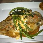Crab-stuffed Trout