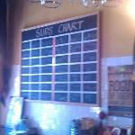 The beer selection posted