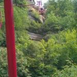 Natural Bridge chair lift right down the road from Li'l Abners