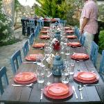 Set for a grilled fish feast for all the guests.
