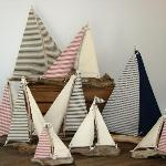 By the Bay Driftwood Sailboats