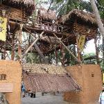 Entering Miao Village