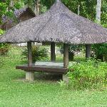 Cabana on grounds