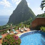 Ladera- where we had lunch with David during our private tour of Soufriere!