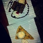 Apple pie & brownies