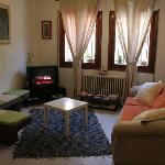 Recepción, living room