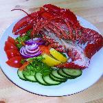 Lobster salad at Ollie's