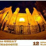 The Great Synagogue is 12 mins walking from Trendy Budapest B&B