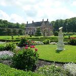Menkemaborg formal garden