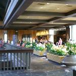 Lobby of the Polynesian/Entrance to O'Hana's
