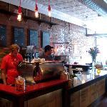 Coffee bar at Pound