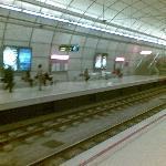 Andén en estación
