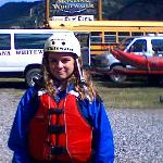 ready to go rafting, this pic from 2011 trip