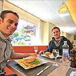 Lounge Restaurant des alpes Fiesch