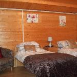 Twin Cabin interior
