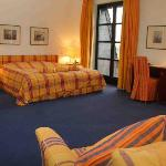 Spacious hotel room