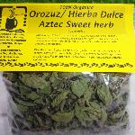 Finished Product - Aztec Sweet Herb