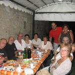 Che bella cena con ottimi amici e altrettanti ottimi primi e secondi