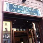 Tasty crostini & wine in a traditional corner bar