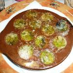 Escargots à la provençal