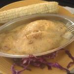 Stuffed Grouper & Fried Corn on the Cob