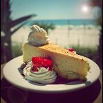Creme Brulee Cheesecake ! Best on the Beach !