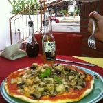 Amazing Seafood Pizza