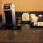 Keurig Single Serve coffee maker and K-Cups