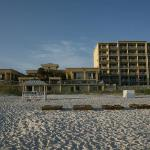 Motel view from the beach