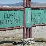 Enterance to Khuvsgul national park
