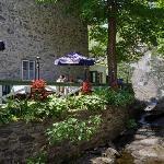 Photo de Moulin de St-Laurent- Restaurant- Chalets