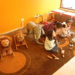 Indoor kids playground- FOC. Choices of art works for kids with charges TW$300-900/kid.