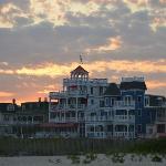 Sunset over 931 Beach
