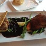 duo of duck (breast & confit)