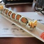 Yam Tempura Roll, Pearl Sushi, Stratford