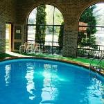 Indoor Seasonal solar heated pool