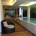 Luxury Pool Suite - private lap pool but with a roof overhead