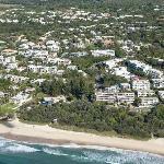 Sunshine Beach Aerial View 2012
