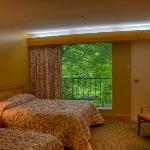 Natural Bridge State Resort room in the lodge