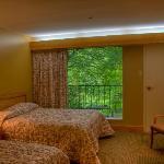 Natural Bridge State Resort room in the lodge