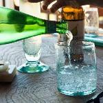 Enjoying some drinks!