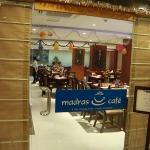 RR Inn, Tirunelveli view of the Madras Cafe restaurant