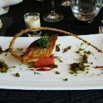 Une superbe présentation pour l''une des délicieuses recettes du Chef