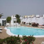 The Laguneta Apartments and pool