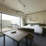 Non-smoking twin room with terrace
